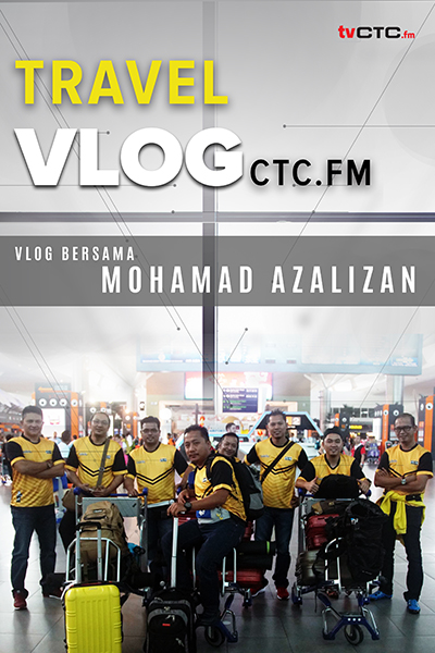 TRAVEL :  Vlog CTC.FM at Ladang Harum Manis