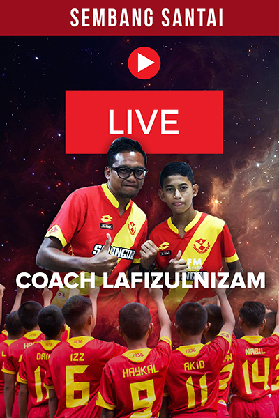 SEMBANG SANTAI  :  Live Bersama  Coach Lafizulnizam Abdul Latip