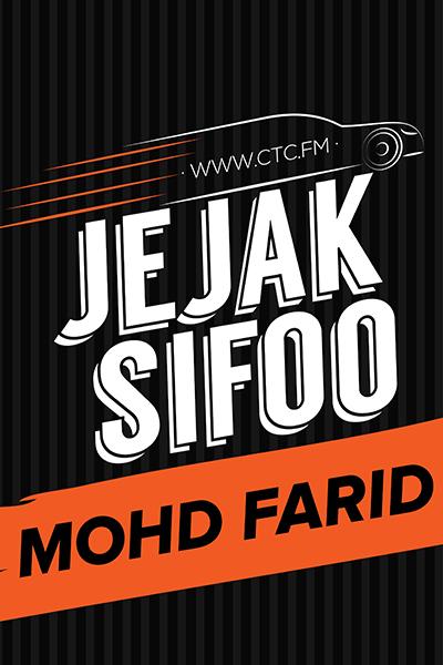 JEJAK SIFOO : bersama Mohd Farid
