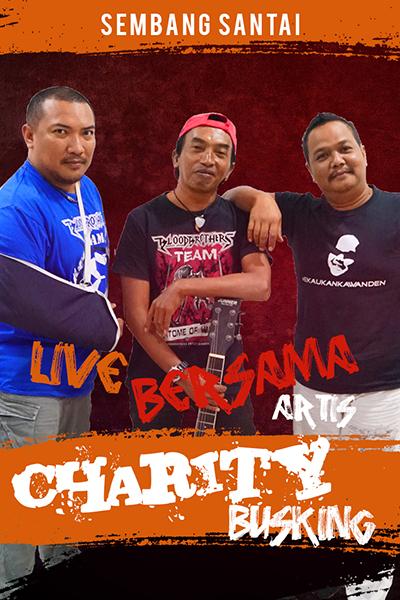 SEMBANG SANTAI  : Live Bersama Charity Busking