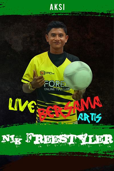 AKSI : Nik Khairul Anuar - Football Freestyler