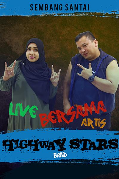SEMBANG SANTAI : Live Bersama Kumpulan Highway Stars