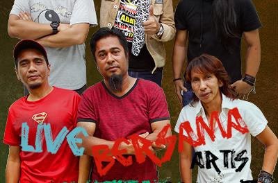 SEMBANG SANTAI : Live Bersama Kumpula E.Y.E dan Kumpulan Akar