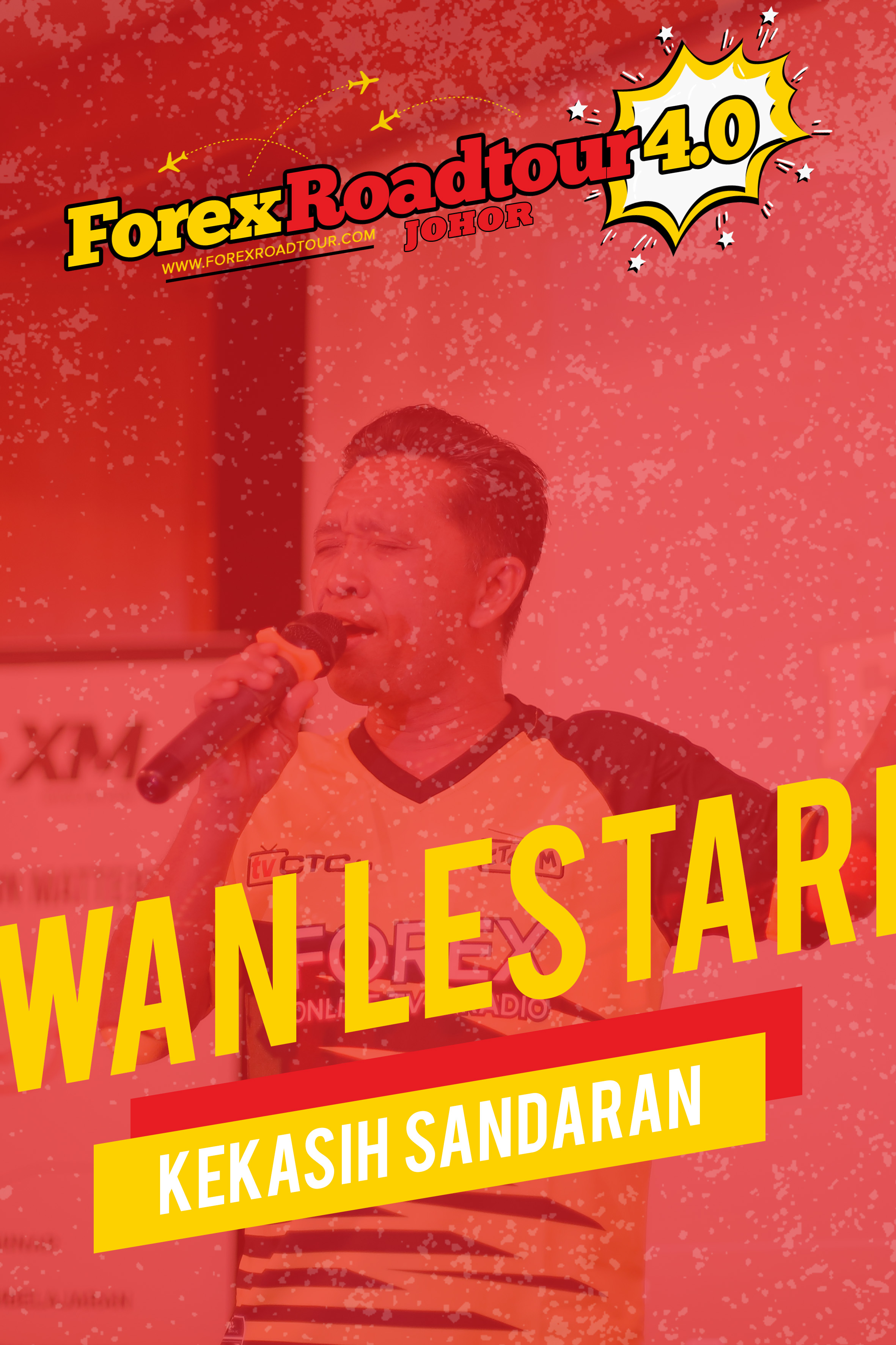Wan Lestari - Kekasih Sandaran [Forex Roadtour 4.0 Johor]