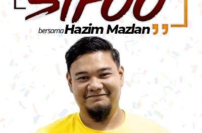 JEJAK SIFOO : Bersama Hazim Mazlan