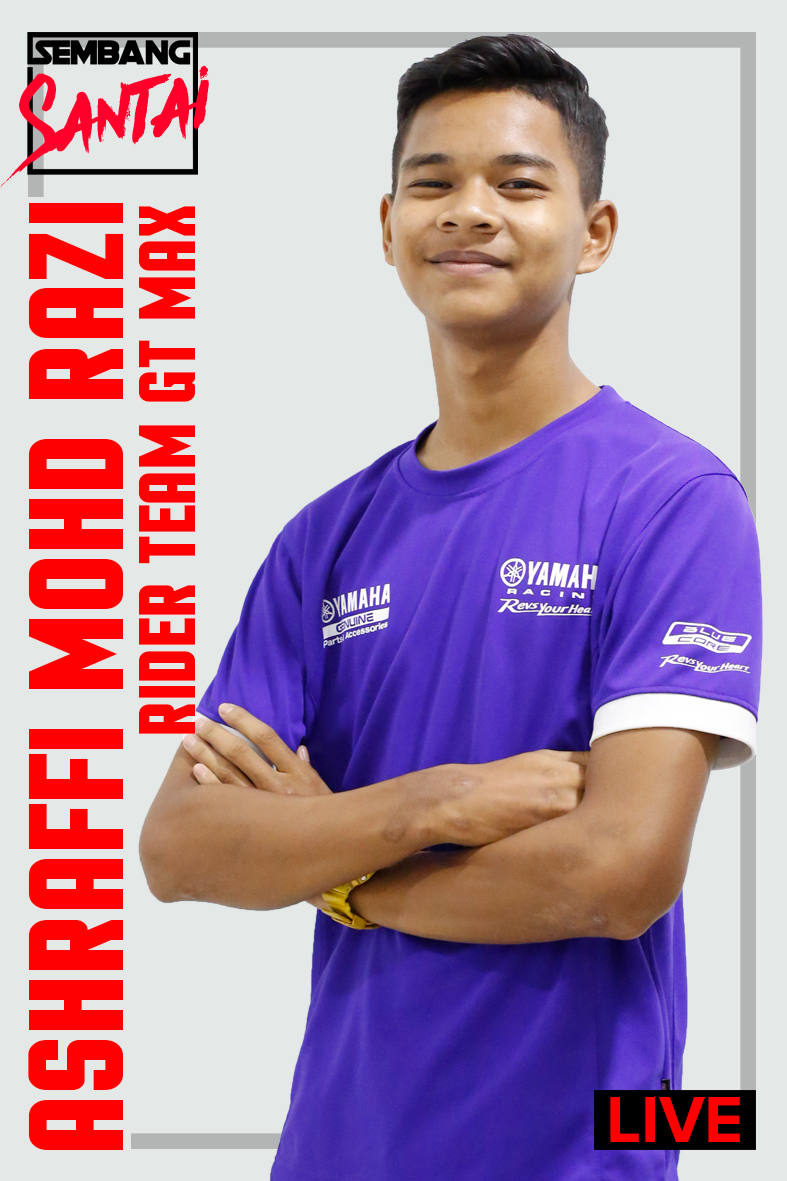 SEMBANG SANTAI : Ashraffi Razi (Rider Team GT MAX)
