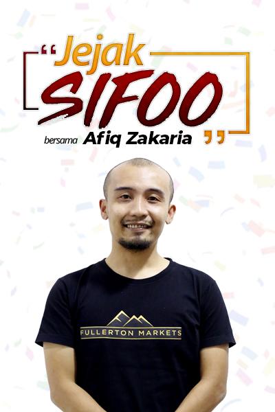 JEJAK SIFOO : Bersama Afiq Zakaria