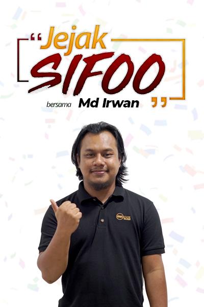 JEJAK SIFOO : Bersama Md Irwan