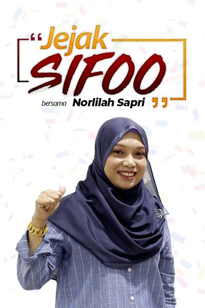 JEJAK SIFOO : Bersama Norlilah Sapri