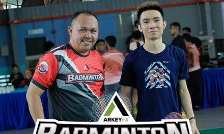 Kejohanan Badminton Arkey FX 2019