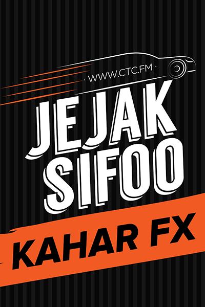 JEJAK SIFOO : Bersama Kahar FX