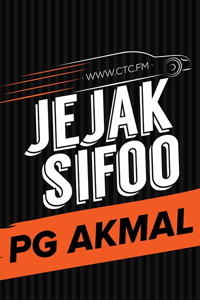 Jejak Sifoo bersama Pg Akmal