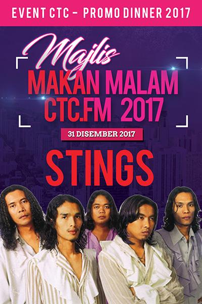 [PROMO] Majlis Makan Malam CTC.FM 2017 Artis Jemputan  - Stings