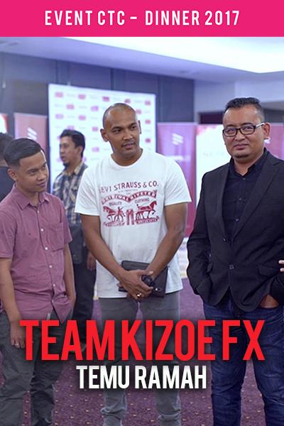 Temu Ramah bersama Team Kizoe FX @ Majlis Makan Malam CTC.fm 2017