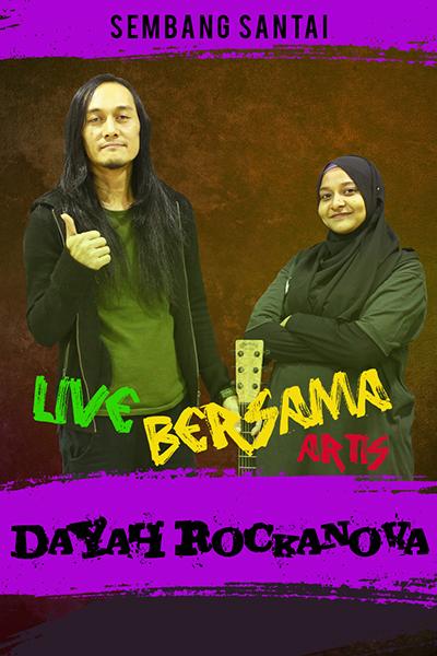 SEMBANG SANTAI : Live Bersama Dayah Rockanova