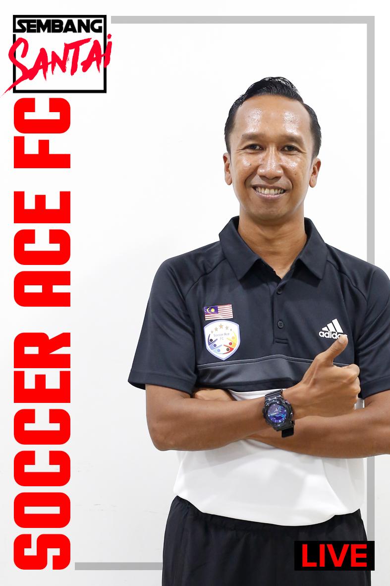 SEMBANG SANTAI : Kelab Bola Sepak Soccer Ace FC