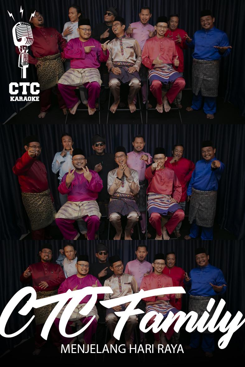 [Karaoke @ CTC] CTC Family - Menjelang Hari Raya (DJ Dave) Edisi Khas sempena Aidilfitri 2019