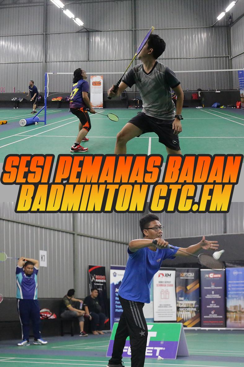 Sesi Pemanas Badan Badminton CTC FM 2020